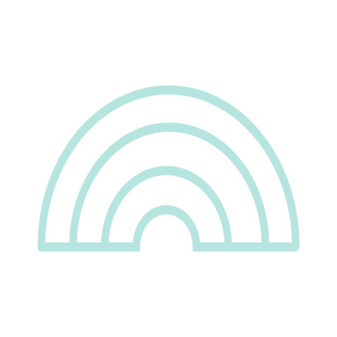 Icona arcobaleno - Net Wireless